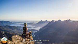 تاثیر کوهنوردی بر زنان
