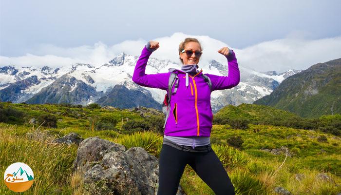 کاهش وزن کوهنوردان