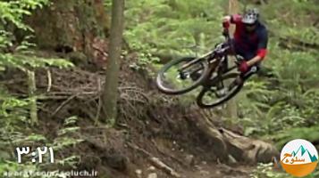 کلیپ فوق العاده از دوچرخه سواری در کوهستان