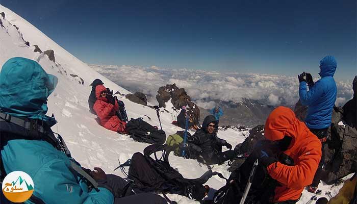 تاثير ارتفاع بر عضلات بدن کوهنوردان
