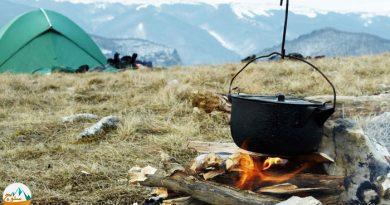 روش های درست کردن آتش در طبیعت