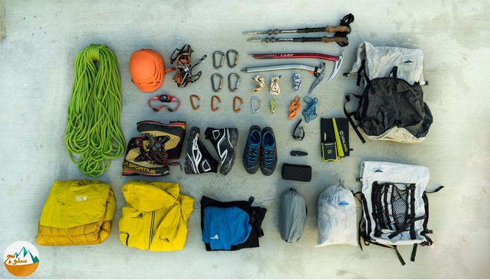 ده وسیله ضروری برای کوهنوردی