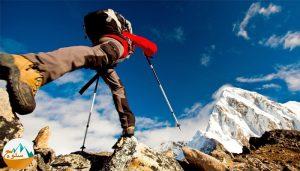 پایین آمدن از کوه