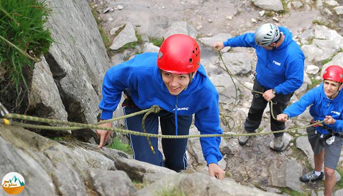راهنمای افراد مبتدی برای انجام صعودهای دشوار