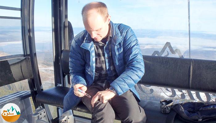 درمان دیابت و کوهنوردی