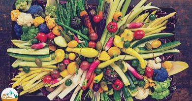 مصرف روزانه سبزیجات و سلامت کوهنوردان