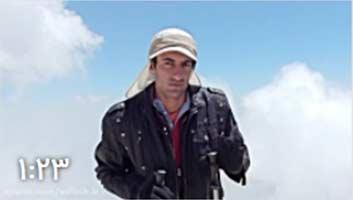 بر فراز بام ایران قله دماوند