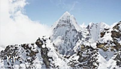تماشای هیمالیا از ارتفاع 8000 متری