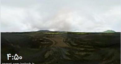 سفر به قلب یک آتشفشان با تکنولوژی فیلم برداری 360 درجه