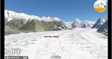 صعود مجازی به قله K2