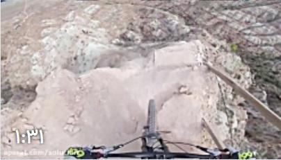 هیجان انگیز ترین مسابقه دوچرخه سواری کوهستان