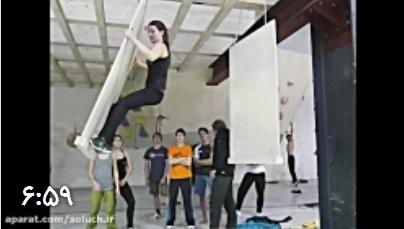 ویدئو فوق العاده از سنگنوردی به سبک آلمانی!