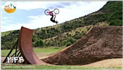 انجام هیجان انگیز ترین تکنیک ها با دوچرخه کوهستان