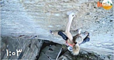 ساشا دیگولان 19 ساله بهترین بانوی سنگنورد آزاد