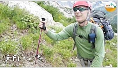کلیپ فوق العاده از صعود کلاسیک به کسکیدز شمالی