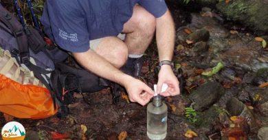 ضد عفونی کردن آب آشامیدنی در طبیعت با پرکلرین