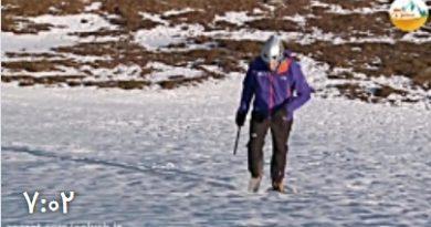 آموزش گام برداری صحیح بر روی یخچال