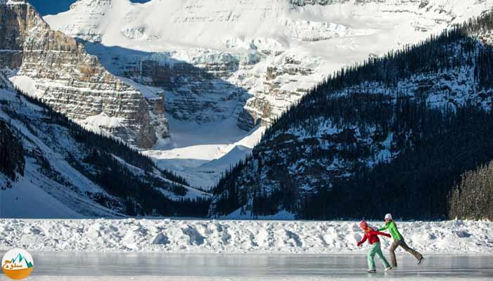 ورزش هیجان انگیز اسکیت روی یخ