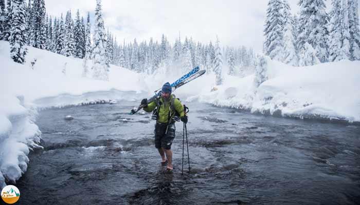 آموزش عبور از رودخانه و جريانهاي آب