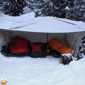 چگونه در برف و سرما کمپ بزنیم