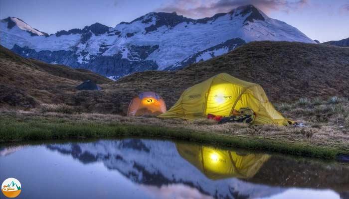 چگونه درکوهستان و طبیعت کمپ بزنیم؟