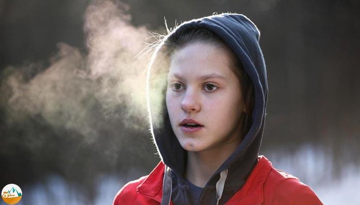 عوارض تنفس از راه دهان در کوهنوردی
