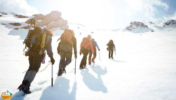 پانزده توصیه برای کوهنوردی در زمستان
