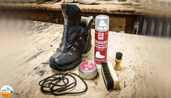 نحوه نگهداری کفش های کوهنوردی
