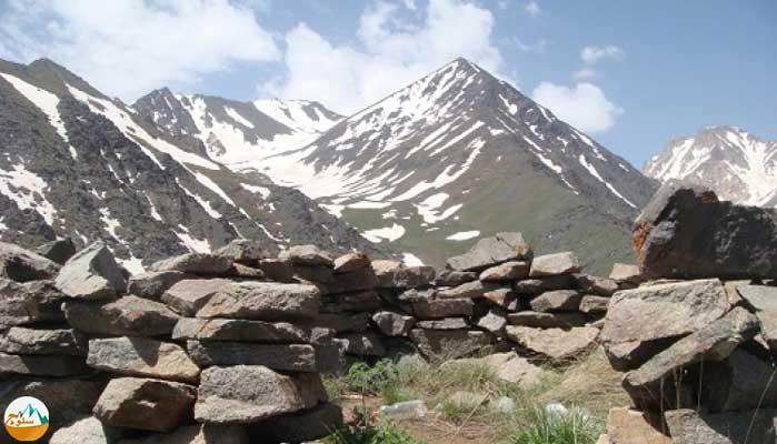 قله سیاه کمان 4475 متر را بهتر بشناسیم