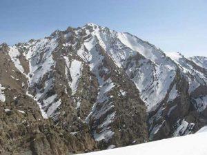 قله هزار کرمان 4500 متر را بهتر بشناسیم