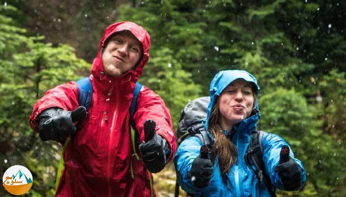 10 نکته برای طبیعت گردی در باران