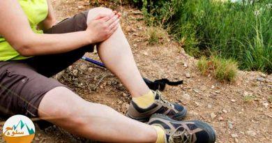 درمان ضعیف بودن زانو در کوهنوردی