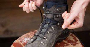 آموزش ویدیویی بستن بند کفش کوهنوردی و طبیعت گردی