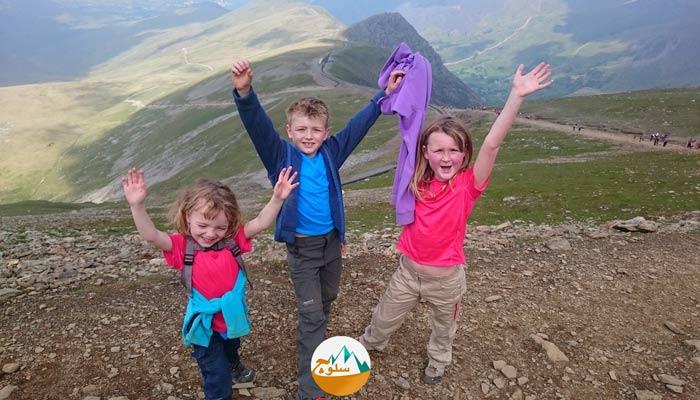 کودکان در ارتفاع