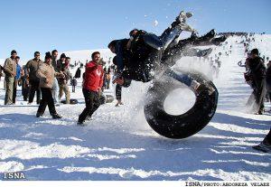 برف بازی یا خودکشی