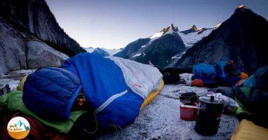 چگونه در مسیر صعود شب مانی کنیم؟ بیواک در ارتفاعات