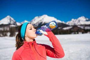 زمستان و لزوم هیدراته بودن بدن 🔺 ضرورت نوشیدن آب در فصول سرد