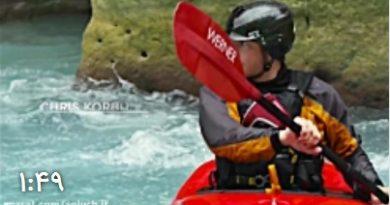 تجربه هیجان در میان آبهای خروشان