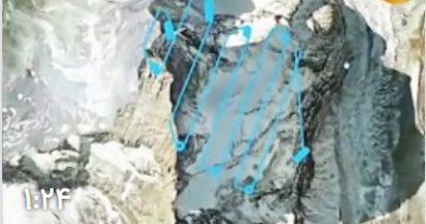 تصویر برداری سه بعدی از کوهها با استفاده از پهباد