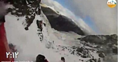 ویدئو دردناک از تجربه های نزدیک به مرگ در کوهستان