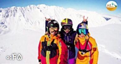 کلیپ فوق العاده از اسکی هیجان انگیز در آلاسکا