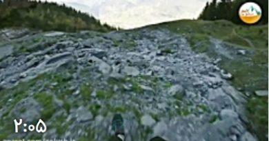 کلیپ فوق العاده تجربه هیجان با چتربازی در کوهستان
