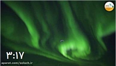 پرواز هیجان انگیز برفراز شفق های قطبی