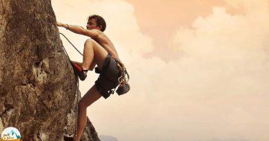 مسیر های ریزشی در صعود های ورزشی