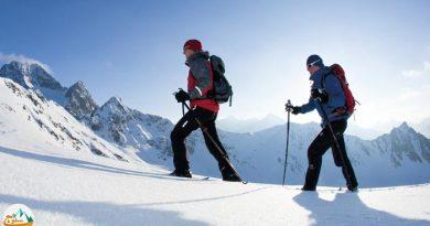 اصول حرکت و گام برداری در برف و یخ