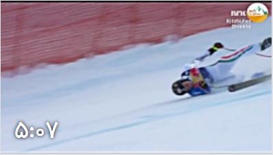 اشتباهات دردناک در اسکی آلپاین