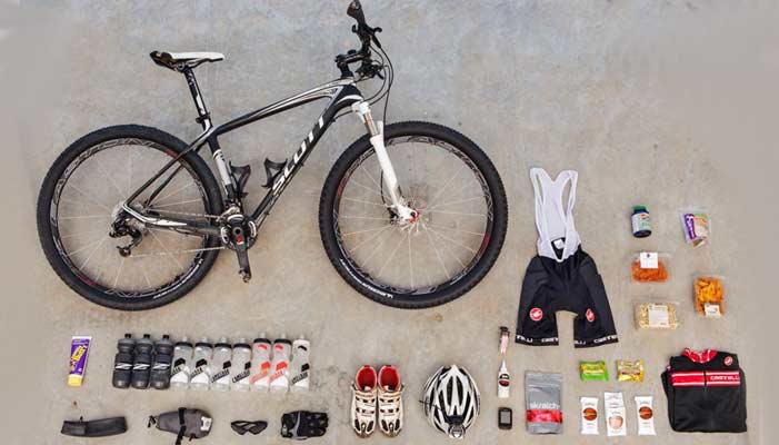 تجهیزات اساسی برای دوچرخه سواری کوهستان