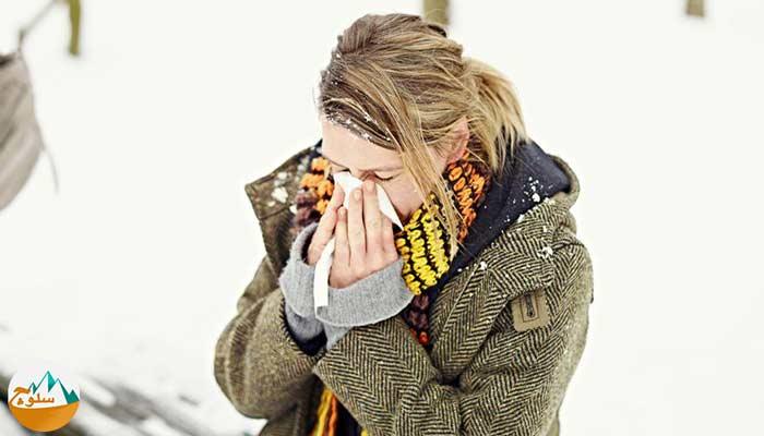 هوای سرد و تحریک سیستم تنفسی