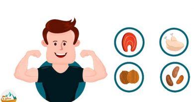 مواد غذایی عضله ساز و چربی سوز
