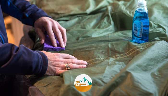 آموزش مرحله به مرحلهی تمیز کردن و شستن چادر مسافرتی و کوهنوردی ⛺️